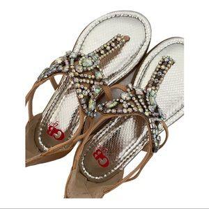 Girls GB Crystal Sandals